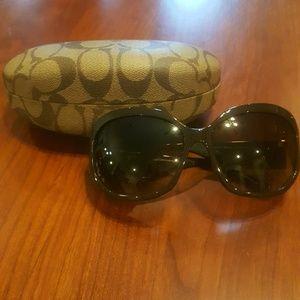 New Brown Coach Sunglasses